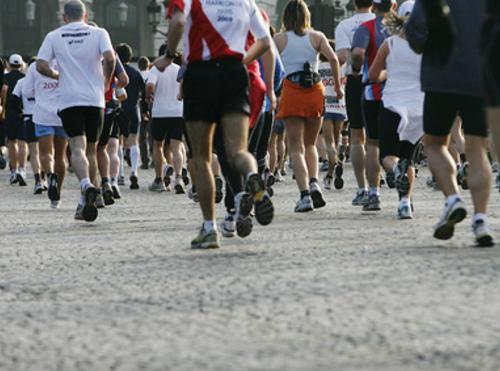 Course à pied - Paris